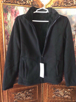 Used fleece sweater jacket size XL black  in Dubai, UAE