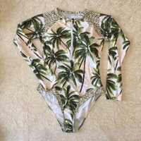 Used palm trees swimsuit (new with tags) in Dubai, UAE
