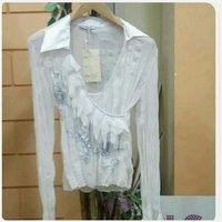 White blouse for lady brand New