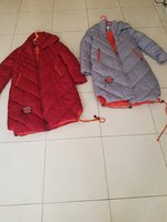 Used Two winter padded winter jackets large in Dubai, UAE