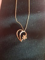 Real Diamond Necklace - NEW