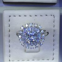 Ladies Ring 925 Sterling Silver Brand New Stone American Diamond Hurry!!!!!