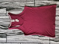 Used Pink VS medium maroon top in Dubai, UAE