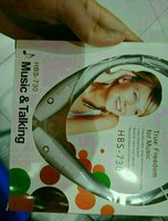 Used Neckband Earphone Black NewBox Wireless in Dubai, UAE