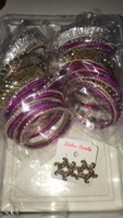 Used Beautiful bangles and earring set!! in Dubai, UAE