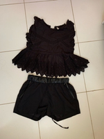 Used Top and shorts xs-s in Dubai, UAE