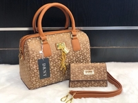 Used DKNY LADIES BAG BROWN  in Dubai, UAE