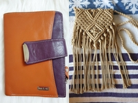 Used Aunthethic wallet and sling bag(prelove) in Dubai, UAE