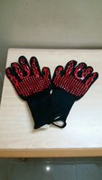 Used BBQ Gloves Flame Pattern (4sets) in Dubai, UAE