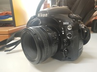 Used Nikon D810 body+ 2 lenses + battery grip in Dubai, UAE