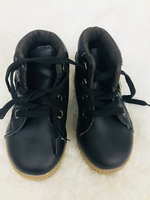 Used Baby shoes black 6-12 months!!  in Dubai, UAE