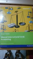 Edexcel IGCSE accounting textbook
