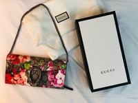 Used Authentic GUCCI bloom wallet for sale!  in Dubai, UAE