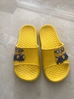 "Used Sandals for kids ""Minions"" in Dubai, UAE"