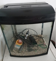 Used Aquarium full set-up 60×60×40cm in Dubai, UAE