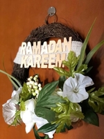 Used Ramdan decorative wreath in Dubai, UAE