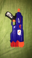 Used Nerf gun dual strike in Dubai, UAE