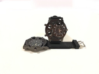 NEW 2 Pcs Quartz Watches Big Size Black