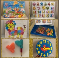 Used NEW Assorted Educational Toys for Kids in Dubai, UAE