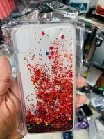 Iphone xs max glitter cover transparent