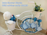 Baby shower decor tricycle
