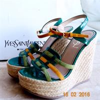 Used Never Worn Authentic YSL Shoes in Dubai, UAE