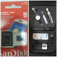 Used 32gb Sd card + Intel Kit with pen USB 💥 in Dubai, UAE