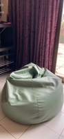 Used Large green bean bag in Dubai, UAE