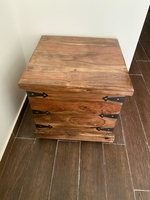 Used A cool Indian wooden storage chest  in Dubai, UAE