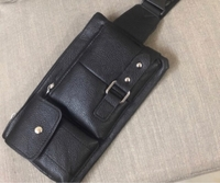 Used New waist belt black bag in Dubai, UAE