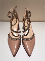 Used NEW FASHION Pumps thick heel EU38 UK 6 in Dubai, UAE