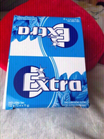 Used New Extra chewing gum 12pk in box 132g in Dubai, UAE