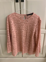 Used Floral top from zara never worn size L in Dubai, UAE