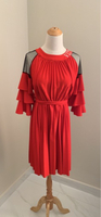 A red dress by Valentino L