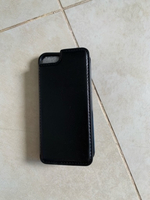 Used iPhone 5s case leather black card holder in Dubai, UAE