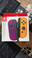 Used Nintendo JoyCon controller Purple/Yellow in Dubai, UAE