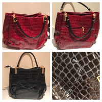 Used Red and blue bag please read description in Dubai, UAE
