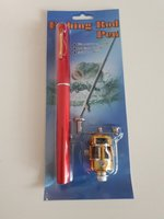 Used Mini fishing rod- Red in Dubai, UAE