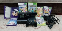 Used XBOX360 console set with wires and games in Dubai, UAE