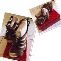 Used Carlos Santana Zipper Shoes ❤️ in Dubai, UAE