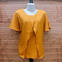Used Mustard Yellow Top  in Dubai, UAE