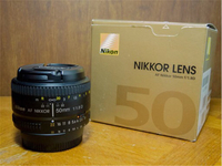Used Nikon 50mm 1.8D Lens in Dubai, UAE