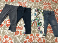 Used 4 pieces pants for 1.5-2 years old girl. in Dubai, UAE