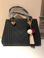 black handbag - small