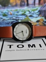 Used 》Original TOMI Leather Watch ●✅BAG  ✅Box in Dubai, UAE