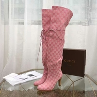 Used Gucci overknee boots in Dubai, UAE