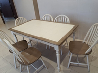 Used Dinner table from home center  in Dubai, UAE