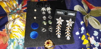 Earrings Combo 9 pair,with 1 free ring.
