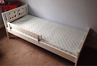 Used IKEA Bed with Mattress  in Dubai, UAE