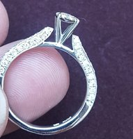 Used New Daimond Ring Worth Aed US 6 in Dubai, UAE
